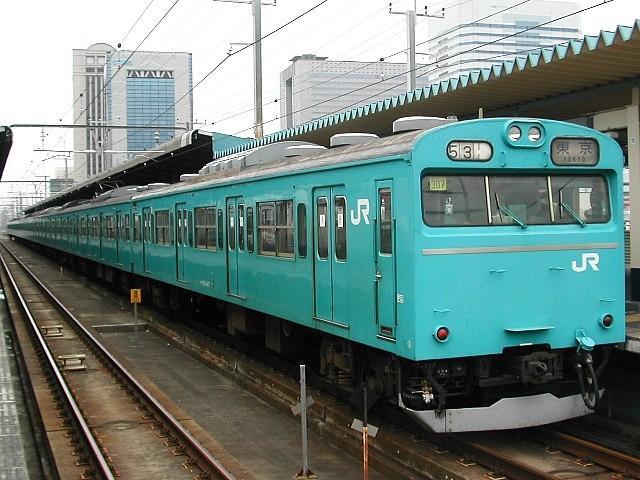 103系 > 京葉線 JR東日本 103系 (京葉線) (運用離脱) 京葉線などで
